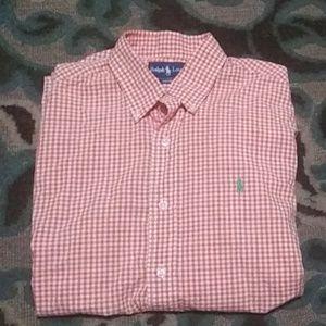 Men's Polo Button Shirt (Custom Fit)